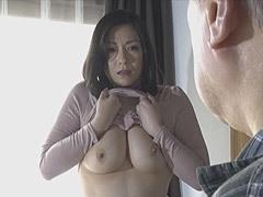 熟女ストレート : 児玉るみ 初老の男性と絡み合う三十路の巨乳妻