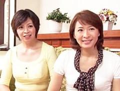 ダイスキ!人妻熟女動画 : 巨乳&貧乳熟女のW家政婦がノーパンで派遣先の息子に狙われる! 竹下千晶 矢部寿恵