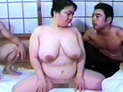 オバタリアン倶楽部 : 【無修正】脂肪に埋もれた巨乳豊満熟女のマ●コ