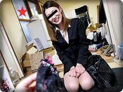 無料AVちゃんねる : 【無・素人】1人住まいの男性宅に身体を張ってセクシー下着訪販の可愛いお姉さんを生ハメ♪