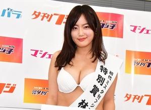 【エロ画像】林加奈子のおっぱいすごいと話題「ミス夕刊フジ子」