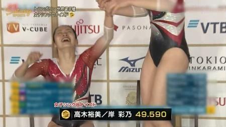 女子トランポリン選手の画像054