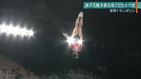 女子トランポリン選手の画像060