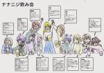 〈22/7〉飲み会(イラスト・叶様)