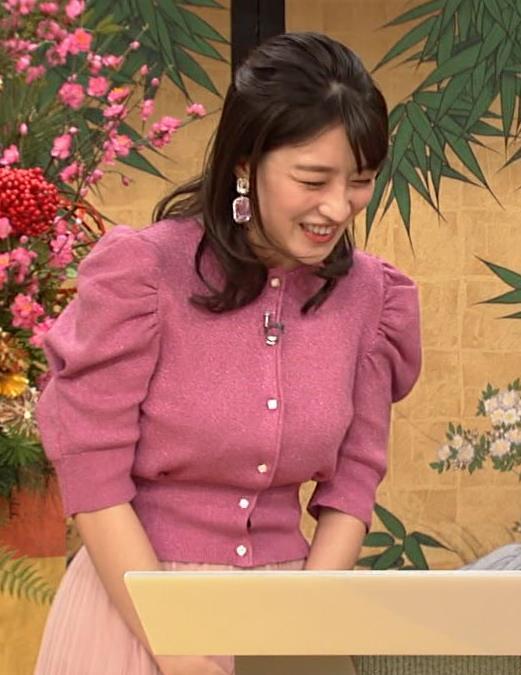 赤木野々花アナ 横乳キャプ・エロ画像2