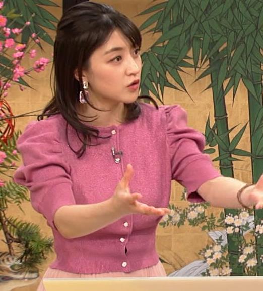 赤木野々花アナ 横乳キャプ・エロ画像3