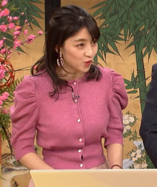 赤木野々花アナ 横乳キャプ・エロ画像4