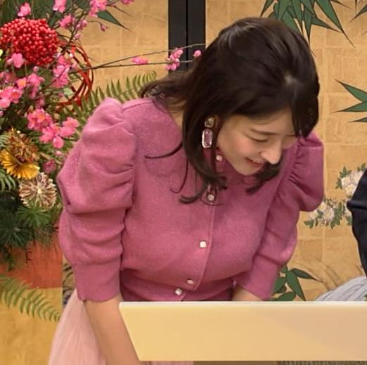 赤木野々花アナ 横乳キャプ・エロ画像8
