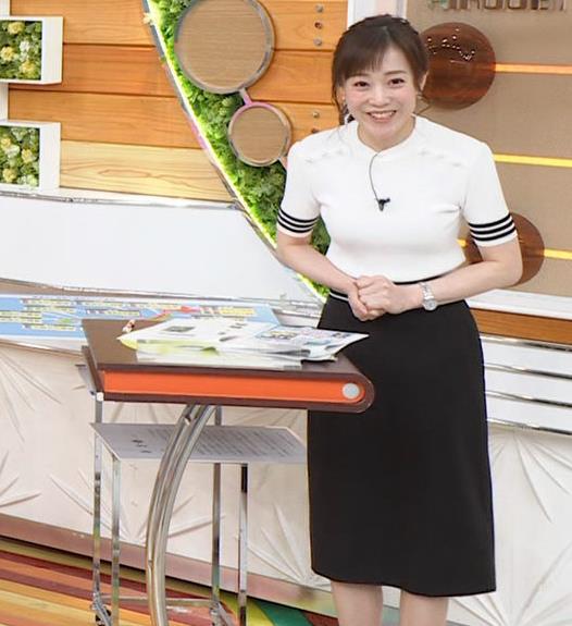 江藤愛アナ ピチピチな衣装キャプ・エロ画像