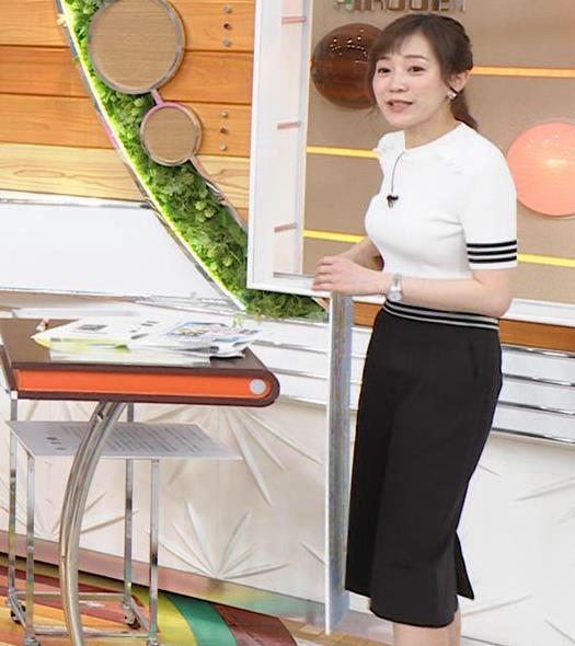 江藤愛アナ ピチピチな衣装キャプ・エロ画像2