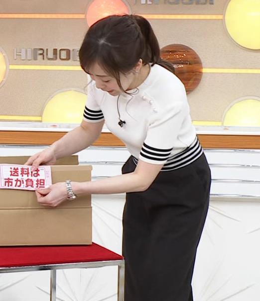 江藤愛アナ ピチピチな衣装キャプ・エロ画像4