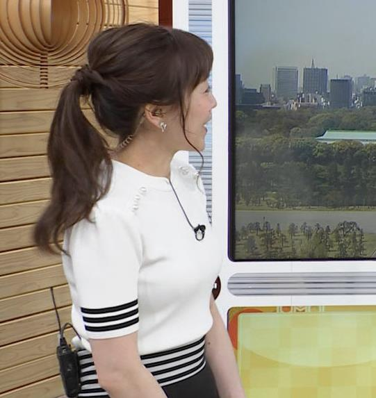 江藤愛アナ ピチピチな衣装キャプ・エロ画像6