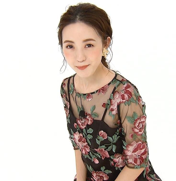 古谷有美アナ 透け透け衣装キャプ・エロ画像3