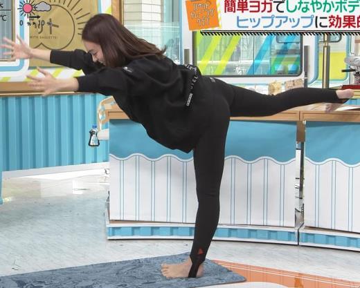 後藤晴菜アナ プリケツがクッキリ過ぎる!キャプ画像(エロ・アイコラ画像)