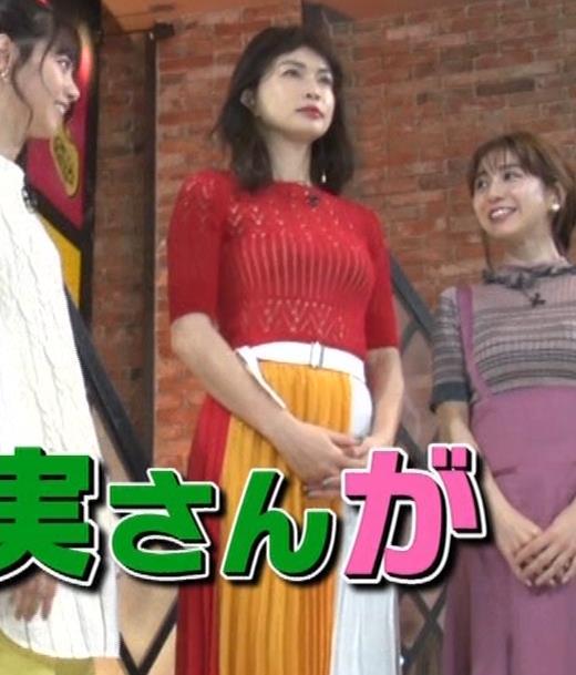 長谷川京子 ピチピチな衣装のエロ過ぎおっぱいキャプ・エロ画像2