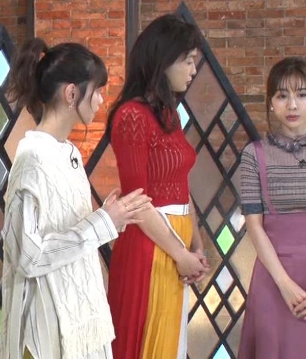 長谷川京子 ピチピチな衣装のエロ過ぎおっぱいキャプ・エロ画像4