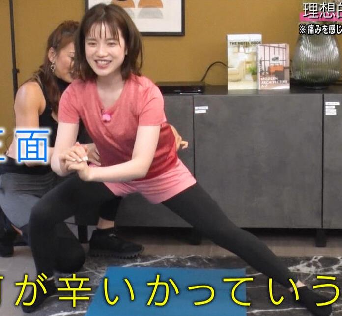 弘中綾香アナ 意外と大きいおっぱい(Tシャツ姿)キャプ・エロ画像11