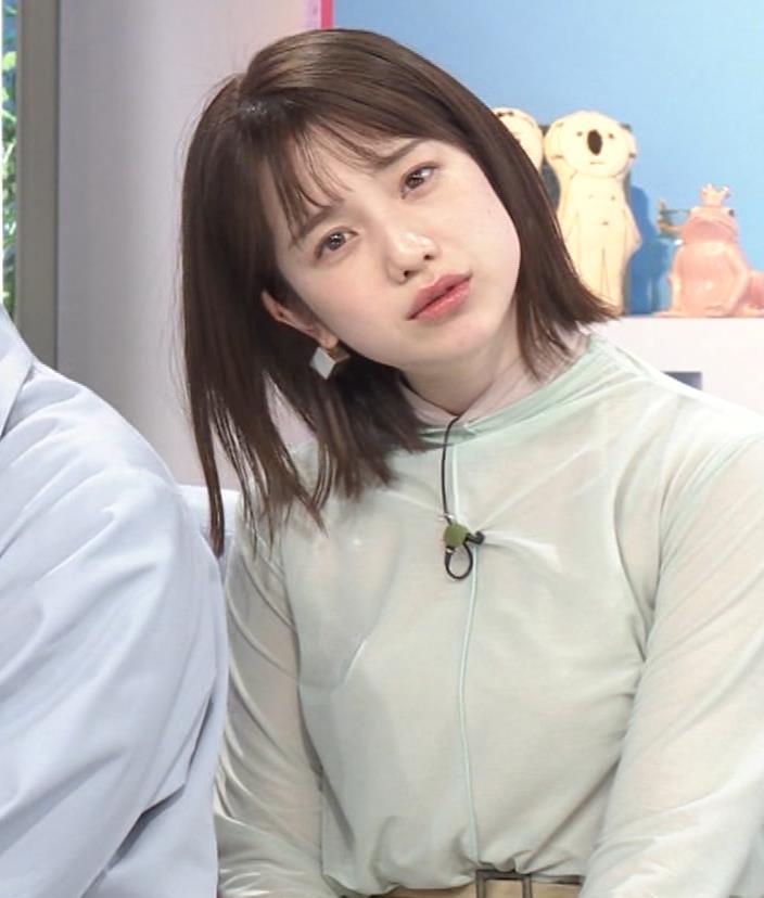 弘中綾香アナ 乳寄せキャプ・エロ画像5