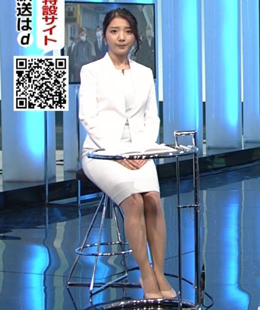 保里小百合アナ タイトなスーツ姿キャプ・エロ画像2
