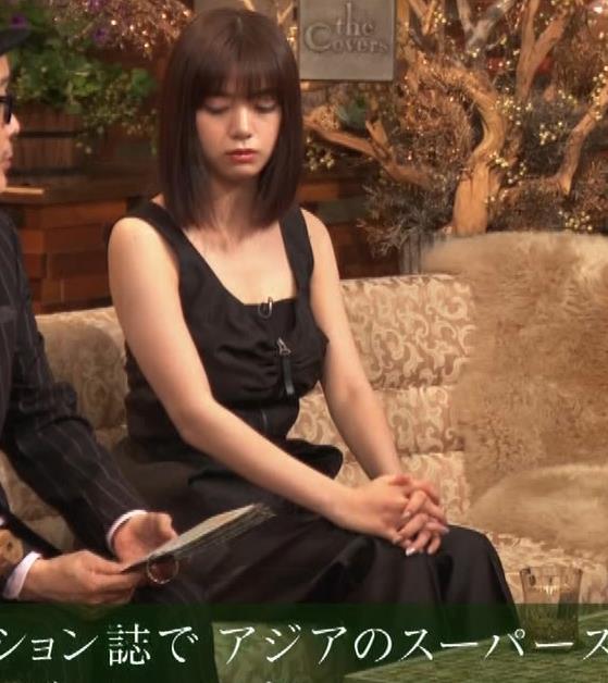 池田エライザ ノースリーブのエロいワキキャプ・エロ画像7
