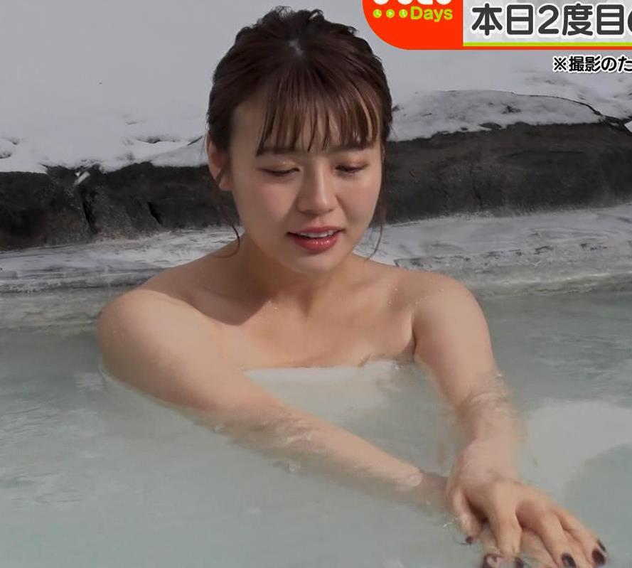 井口綾子 温泉入浴シーンキャプ・エロ画像8