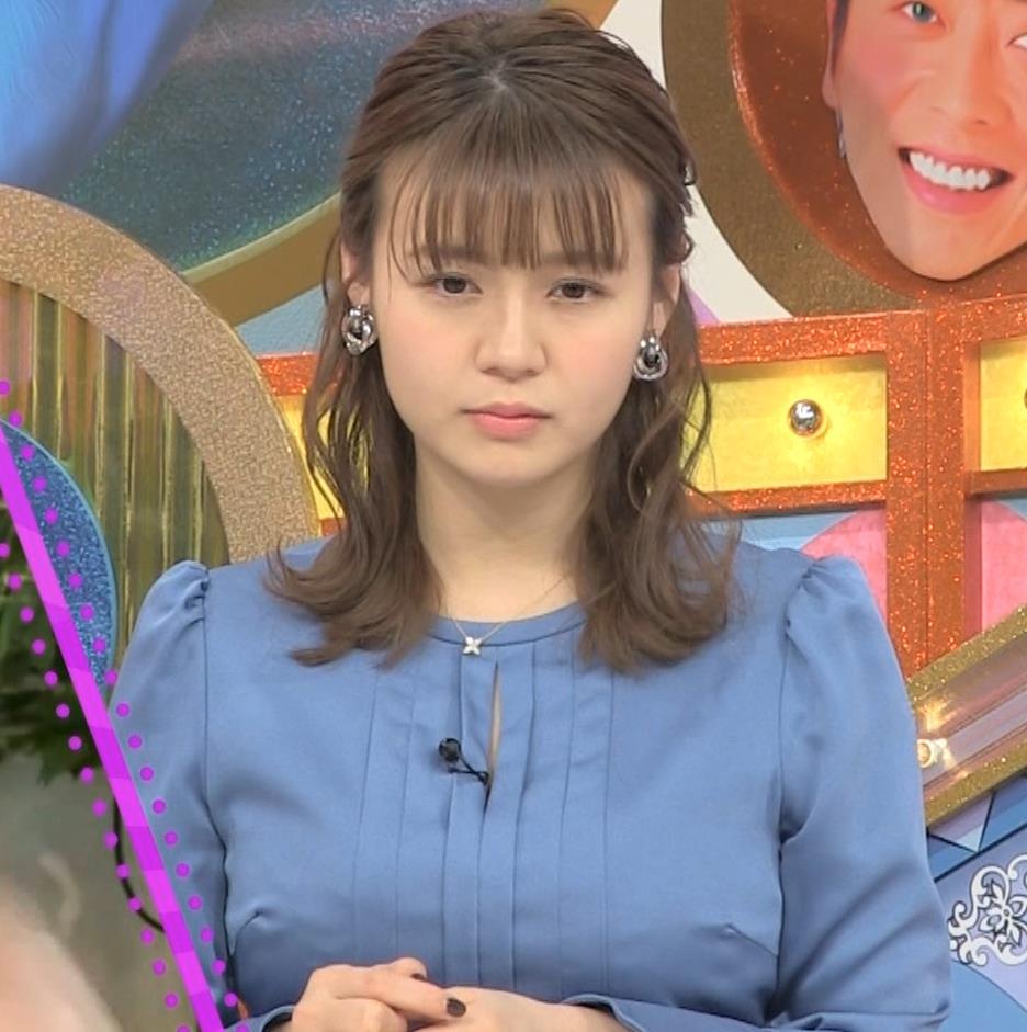 井口綾子 セクハラに負けて胸元見せ&縄跳び乳揺れキャプ・エロ画像13