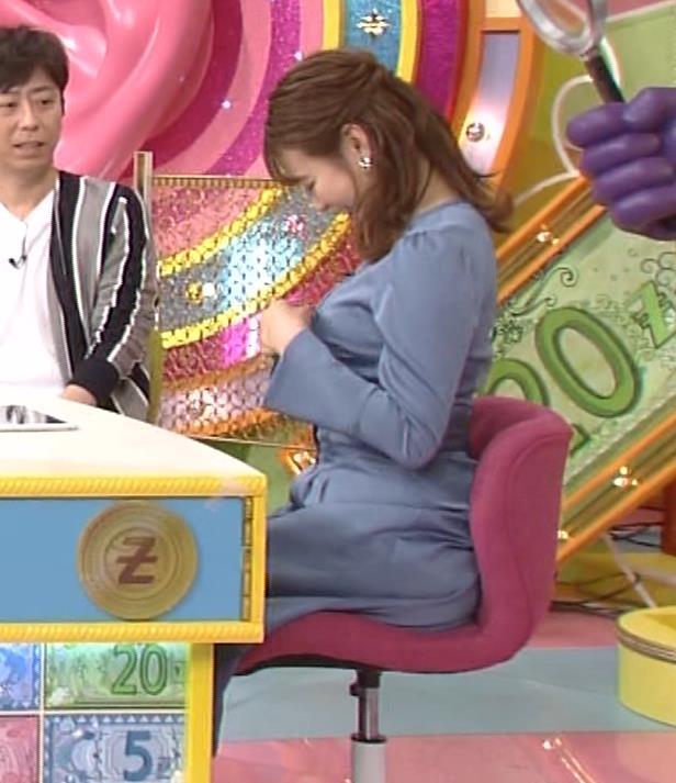 井口綾子 セクハラに負けて胸元見せ&縄跳び乳揺れキャプ・エロ画像3