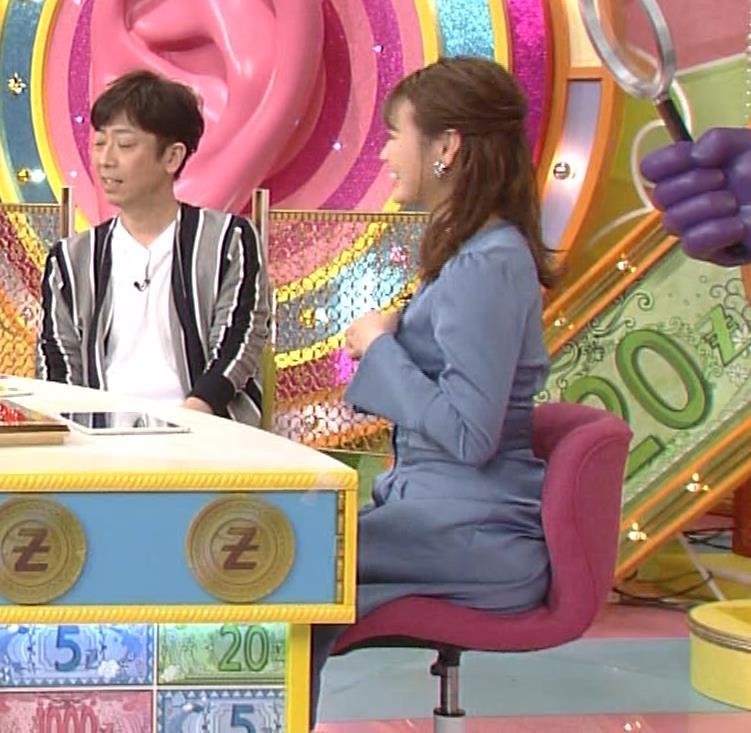 井口綾子 セクハラに負けて胸元見せ&縄跳び乳揺れキャプ・エロ画像4
