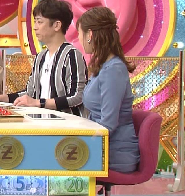 井口綾子 セクハラに負けて胸元見せ&縄跳び乳揺れキャプ・エロ画像7