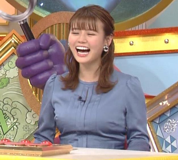 井口綾子 セクハラに負けて胸元見せ&縄跳び乳揺れキャプ・エロ画像8