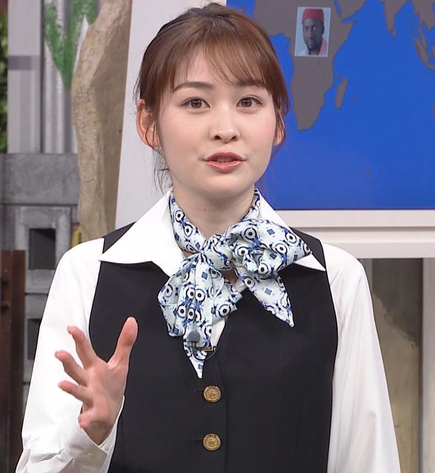 岩田絵里奈アナ CAコスプレがエロかわいいキャプ・エロ画像7