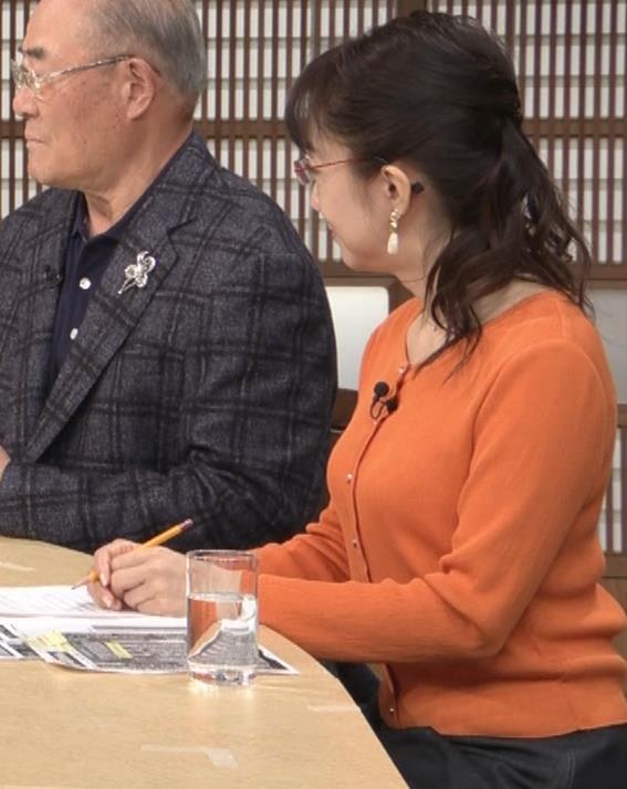 唐橋ユミ デカい横乳キャプ・エロ画像4
