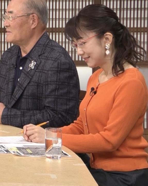 唐橋ユミ デカい横乳キャプ・エロ画像5