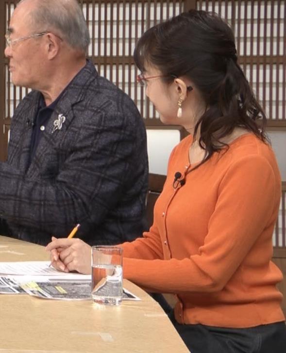 唐橋ユミ デカい横乳キャプ・エロ画像6