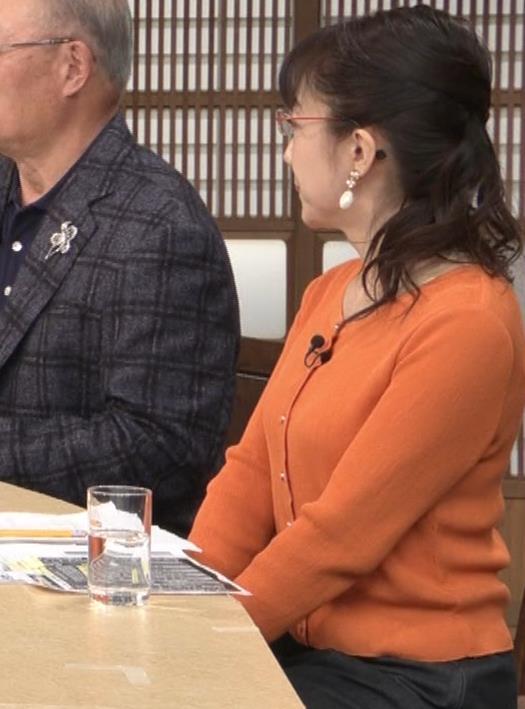 唐橋ユミ デカい横乳キャプ・エロ画像7