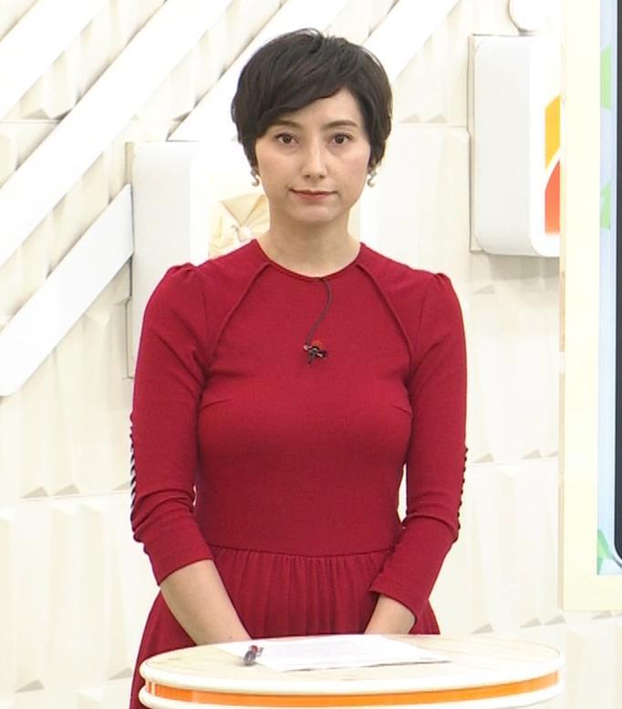 加藤シルビア ピチピチな衣装を着る巨乳女子アナキャプ・エロ画像2