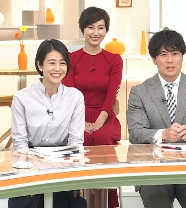 加藤シルビア ピチピチな衣装を着る巨乳女子アナキャプ・エロ画像7