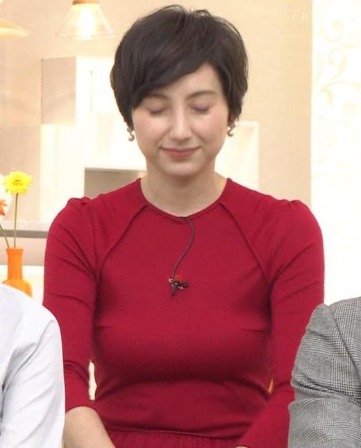 加藤シルビア ピチピチな衣装を着る巨乳女子アナキャプ画像(エロ・アイコラ画像)