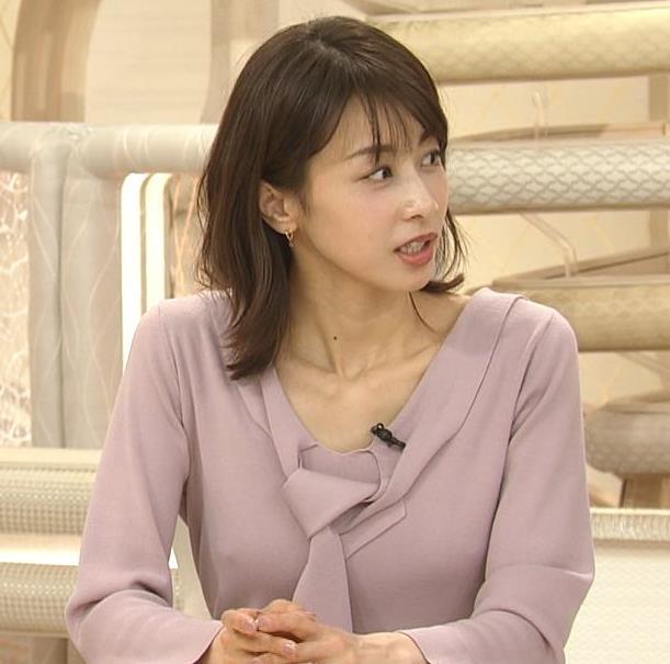 加藤綾子 胸元エロキャプ・エロ画像4