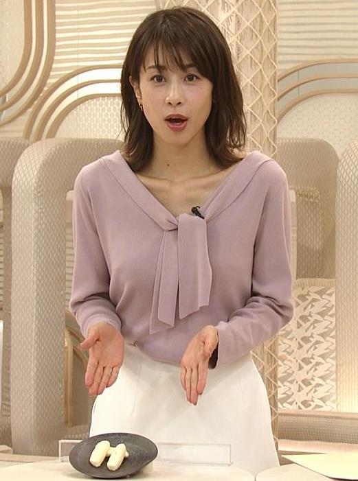 加藤綾子 胸元エロキャプ・エロ画像7