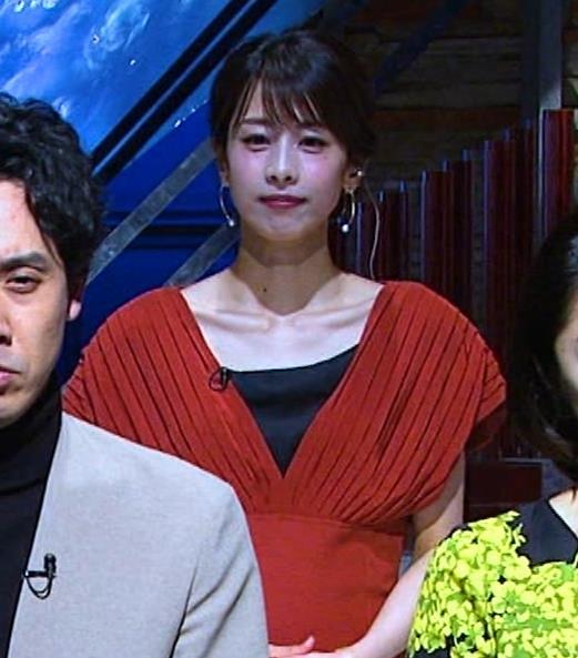 加藤綾子 鎖骨が大露出キャプ・エロ画像