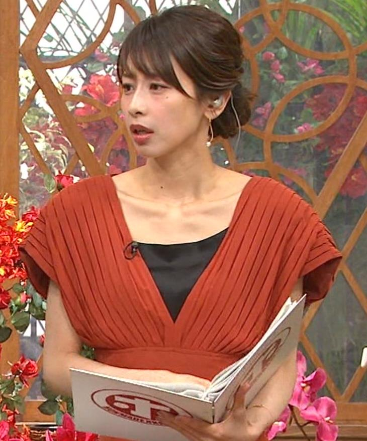 加藤綾子 鎖骨が大露出キャプ・エロ画像6