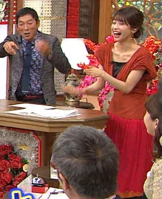加藤綾子 鎖骨が大露出キャプ・エロ画像8