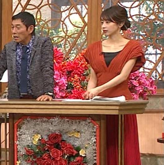 加藤綾子 鎖骨が大露出キャプ・エロ画像9
