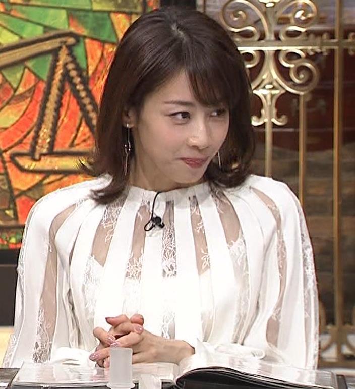 加藤綾子 透け透け衣装キャプ・エロ画像