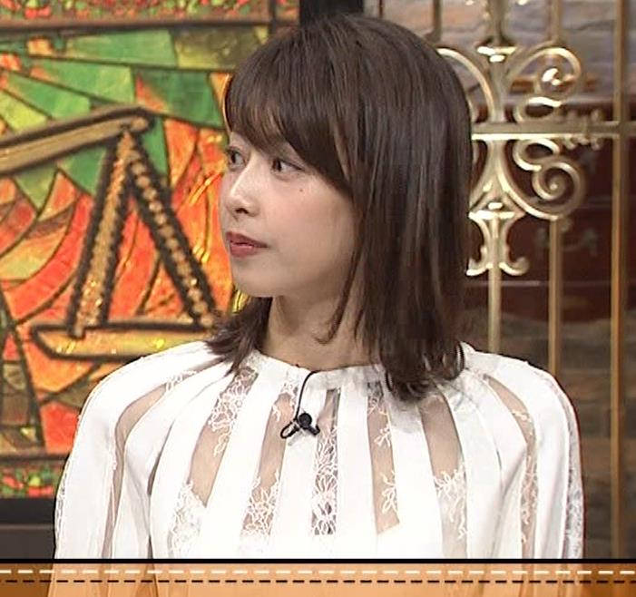 加藤綾子 透け透け衣装キャプ・エロ画像7