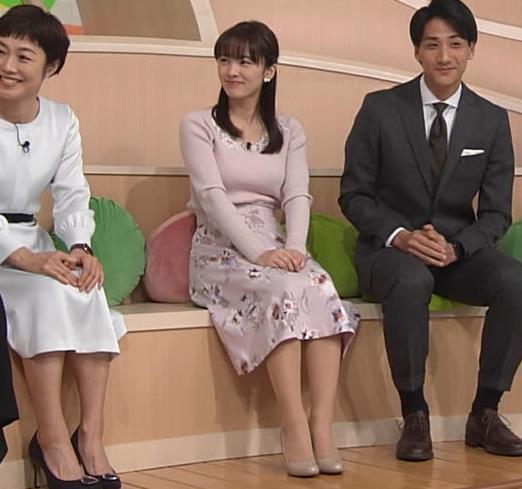 河出奈都美 美人女子アナのエロいニットキャプ・エロ画像3