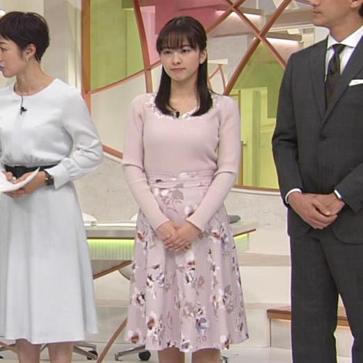 河出奈都美 美人女子アナのエロいニットキャプ・エロ画像9