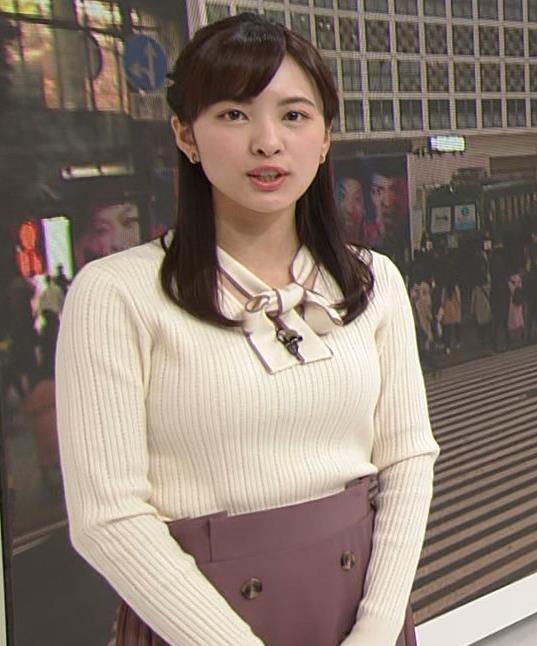 河出奈都美 日テレの若手巨乳アナキャプ・エロ画像3