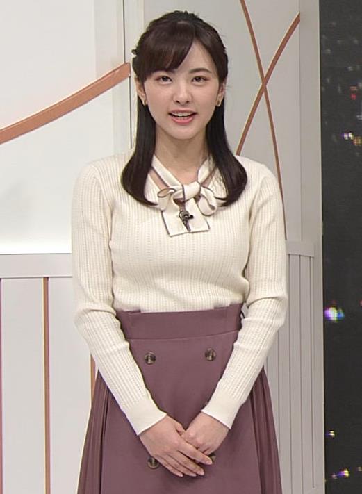 河出奈都美 日テレの若手巨乳アナキャプ・エロ画像4